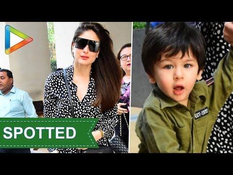 SPOTTED: Kareena Kapoor Khan, Taimur, Soha Ali Khan, Sunny Leone @Sea Princess Hotel Mp3