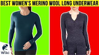10 Best Women's Merino Wool Long Underwear 2018
