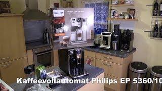 Philips EP5360/10 Kaffeevollautomat mit Milchkaraffe - Test