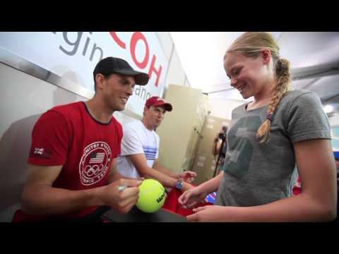 Apia International Sydney 2014: Kids Tennis Day