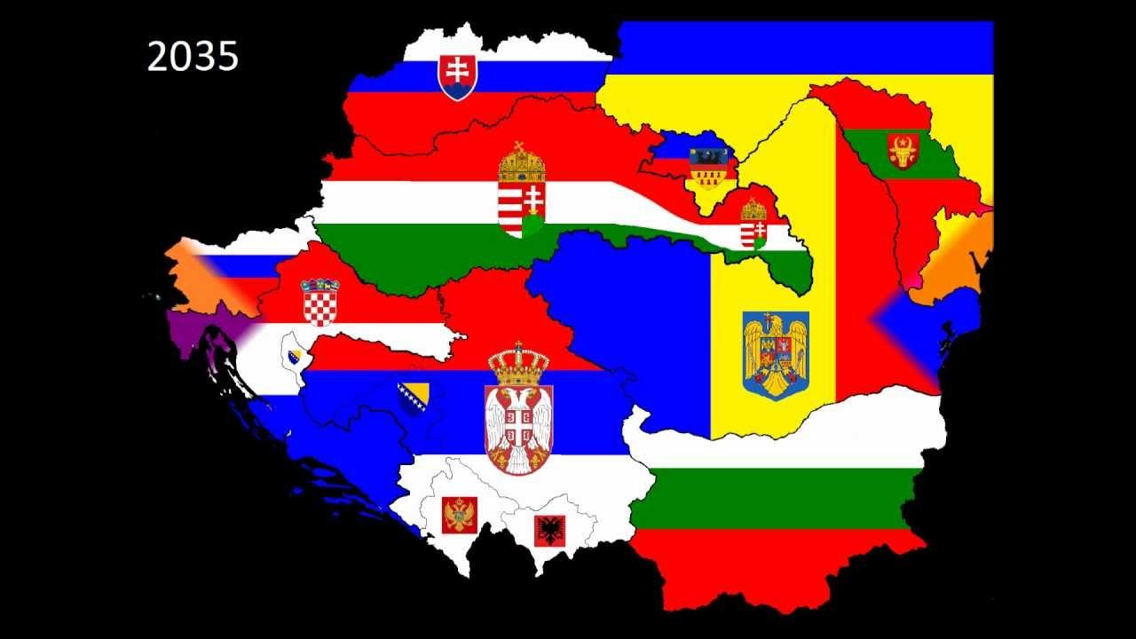 mapa srbije 2035 new balcan map 2025 2035   YouTube mapa srbije 2035