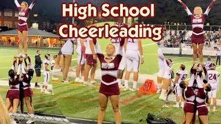 High School Football Cheerleading + They BANNED Backpacks at School