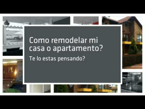como remodelar mi casa o apartamento youtube