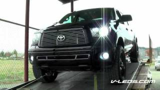 V-LEDS 2010 Toyota Tundra Crewmax Platinum TRD SUPERCHARGED Dyno Run 2 with Headers