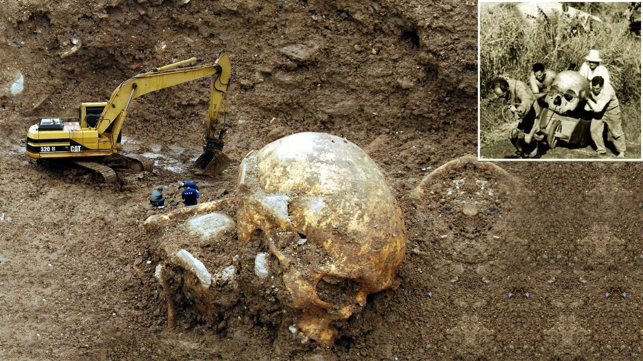 7 Giant Human Skeletons Ever Found Youtube