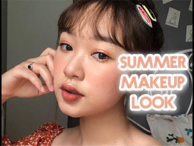 [Ling Makeup] SUMMER MAKE UP LOOK   Trang điểm rực rỡ cho mùa hè   LINGMAKEUP