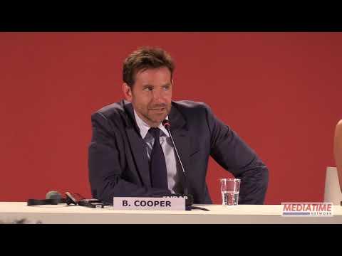 Bradley Cooper press conference at Venice Film Festival 2018