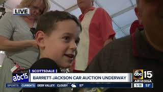 Big stars up for auction at Barrett-Jackson