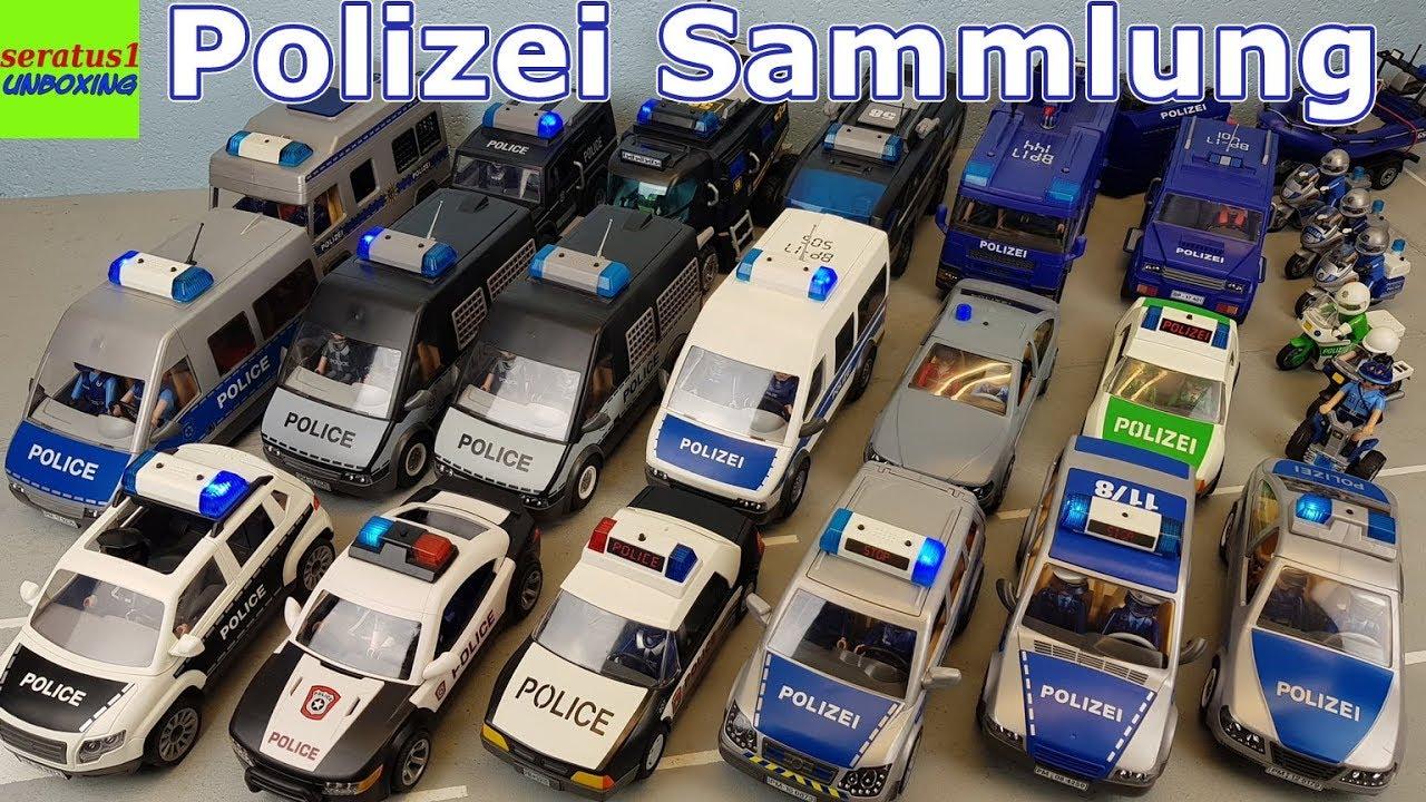 playmobil polizei sek fahrzeuge riesige sammlung seratus1