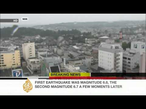 Step Vassen reports on northeast Japan eartquake