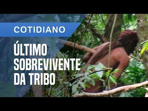 ÍNDIO SOBREVIVENTE VIVE ISOLADO HÁ 22 ANOS NA AMAZÔNIA