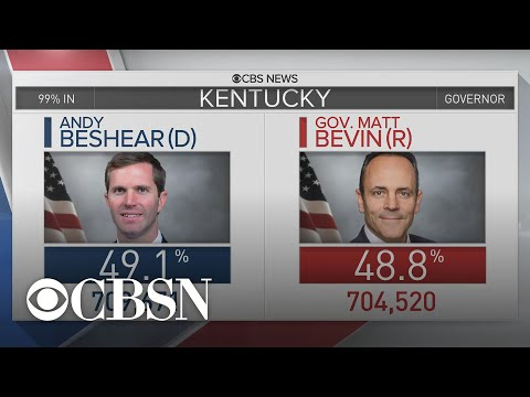 Democrats Claim Key Election Victories In Kentucky And Virginia