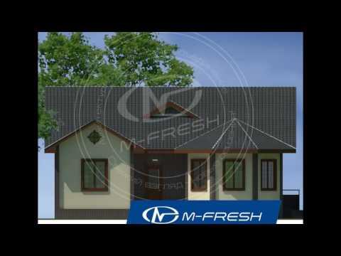 чертежи готовых проектов домов +и коттеджей. Проект дома M-fresh Organic