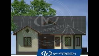 чертежи готовых проектов домов +и коттеджей. Проект дома M-fresh Organic(, 2016-12-04T07:02:52.000Z)