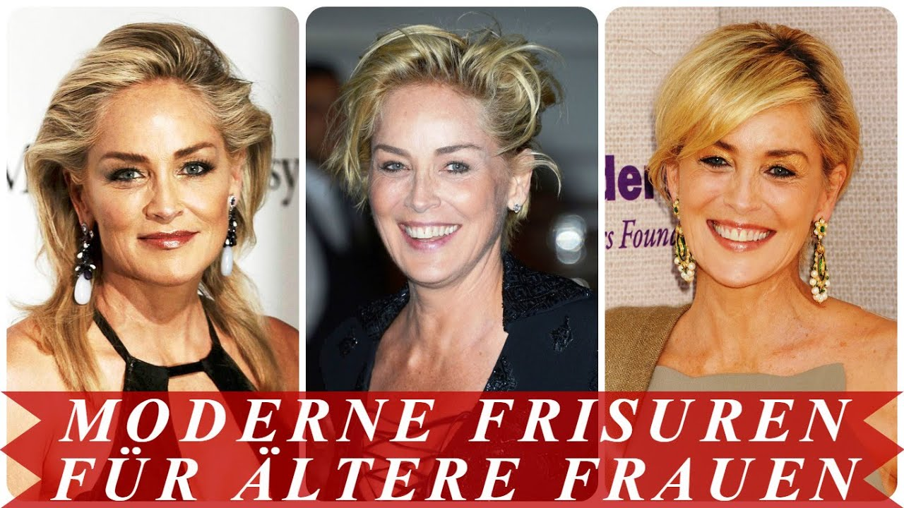 Frisuren fur altere damen 2016