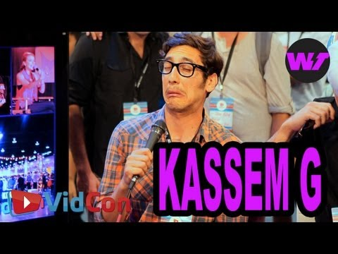 Kassem G Goes Deep with Shira Lazar @ Vidcon 2013