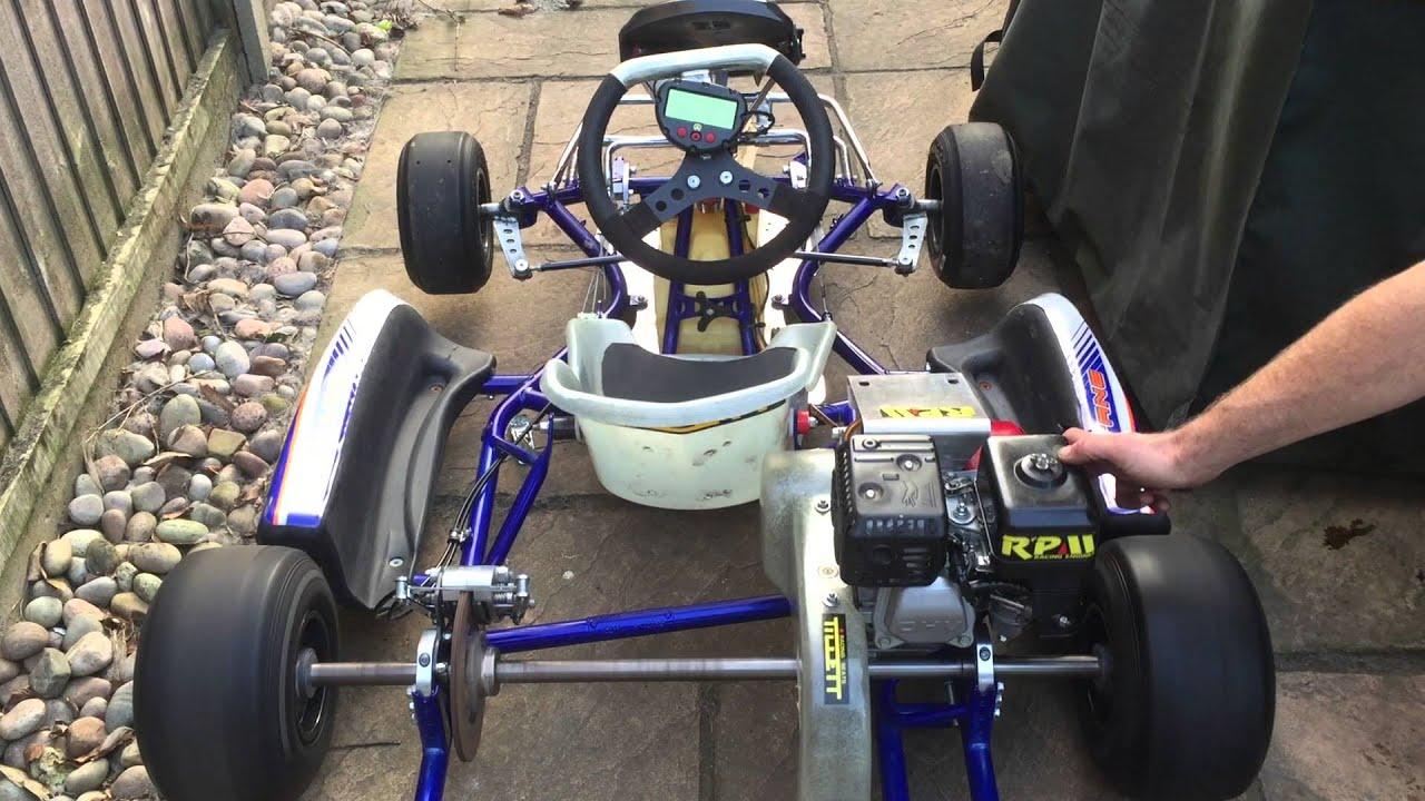 Honda Cadet Petrol Go Kart - GX160 JKH Chassis - YouTube