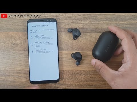 Samsung Gear Iconx 2018 Bluetooth Earbuds | Set up | Add Music & Cool features