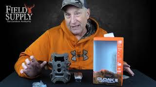 WGI Cloak Pro 12MP Lightsout Invisible Flash Trail Cam w/ SD Card
