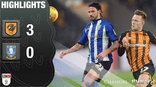 Hull City 3 Sheffield Wednesday 0 | Extended highlights | 2018/19