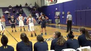 Merrimack at Stonehill College Women