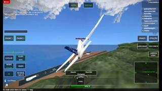 ROBLOX Avionic: LOT Airlines 322 full flight