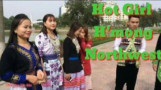Nhạc Múa Hmông Với Clip Hot Girl Dân Tộc Mông Tây Bắc Thật Dễ thương || Hot Ethnic