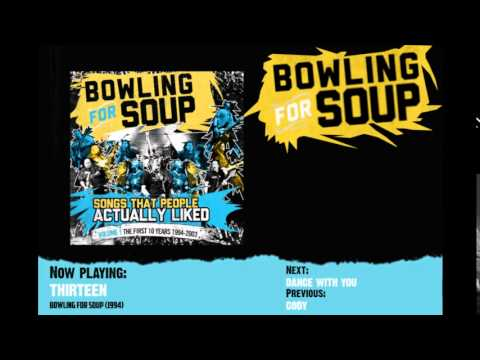 Bowling For Soup - Thirteen - YouTube