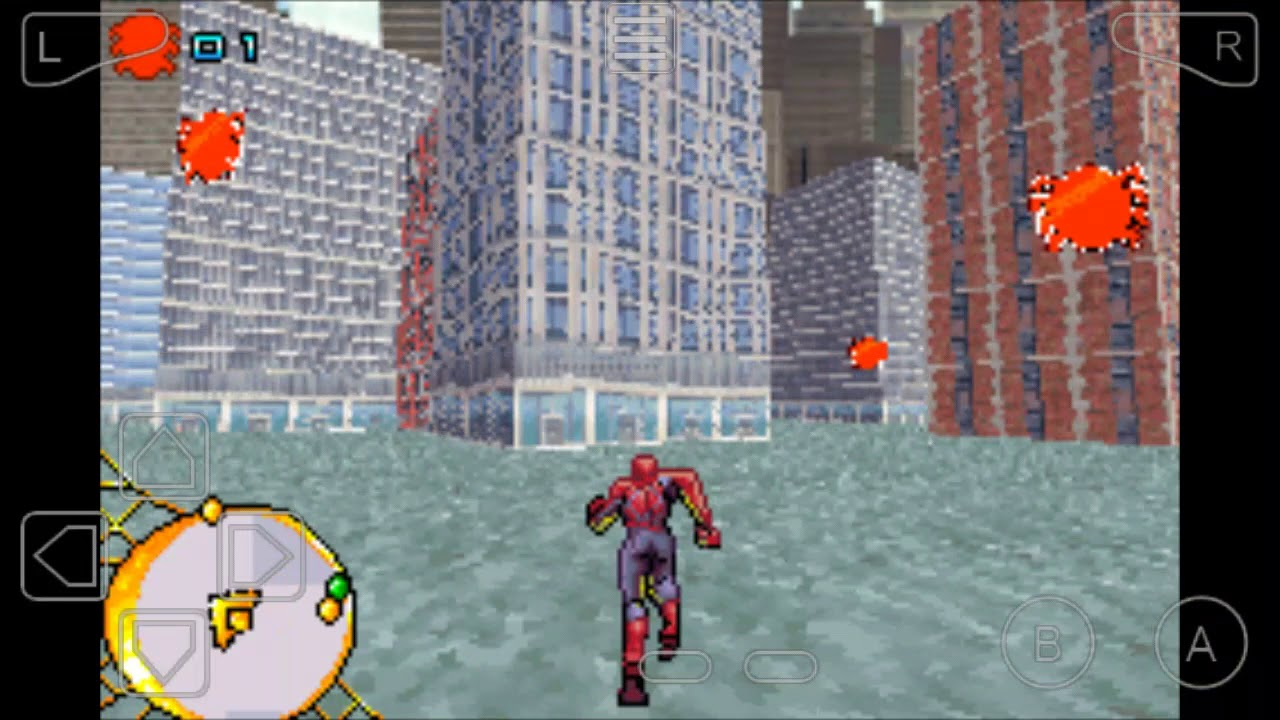 spider man 3 gba rom � free download game