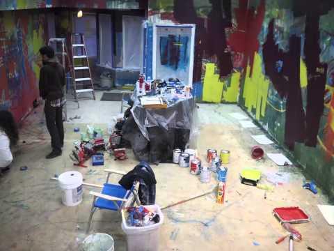 Shasta Mural Day 2  - timelapse #2