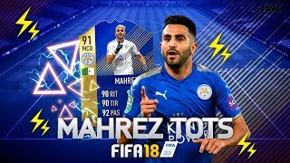 MAHREZ TOTS! ¿MERECE LA PENA? REVIEW MCO BRUTAL! - FIFA 18 ULTIMATE TEAM