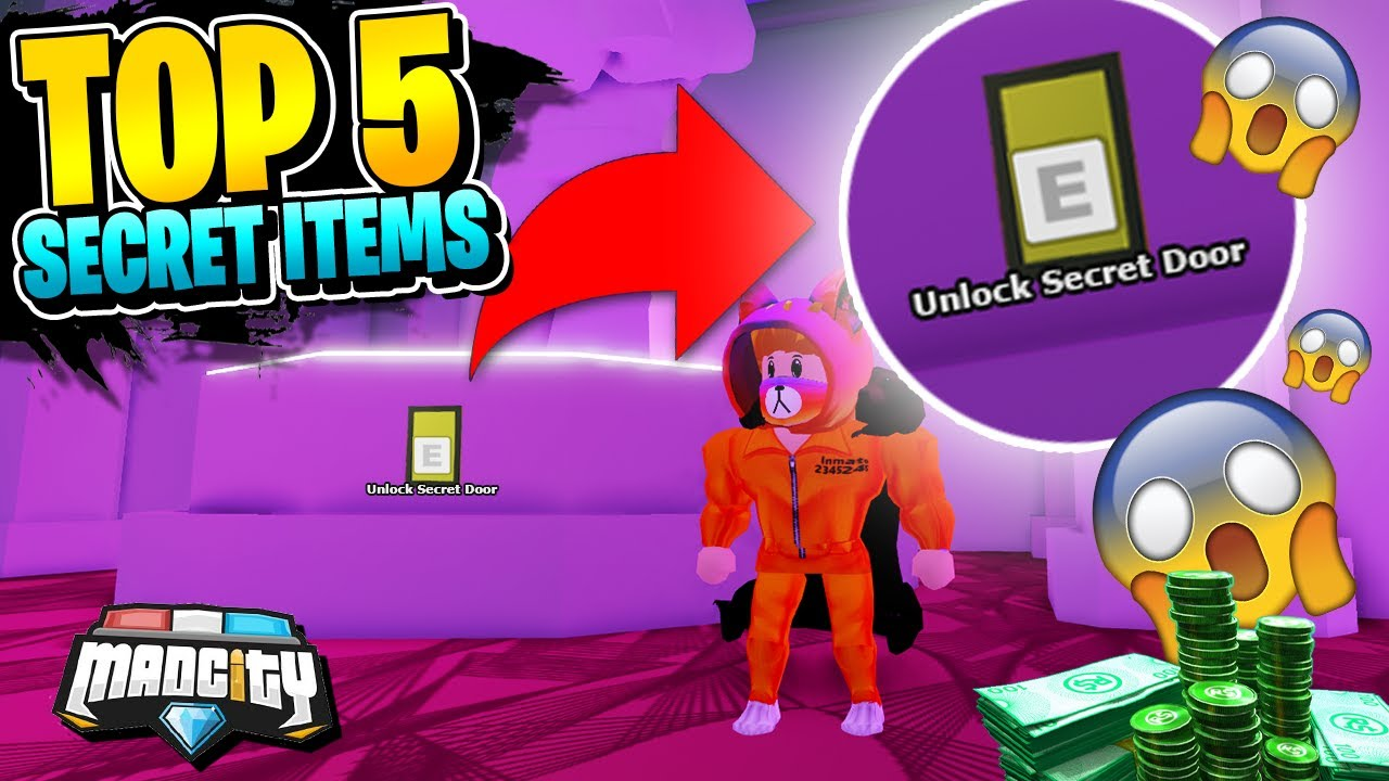 Secret Item Locations Roblox Mad City Wishlist Buddy 5 New Secret Roblox Mad City Items And Locations Codes Youtube
