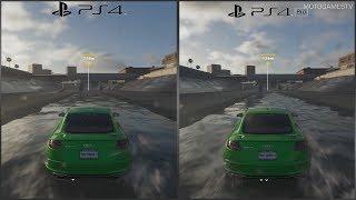 The Crew 2 Beta - PS4 vs PS4 PRO - 1080p Performance and Graphics Comparison