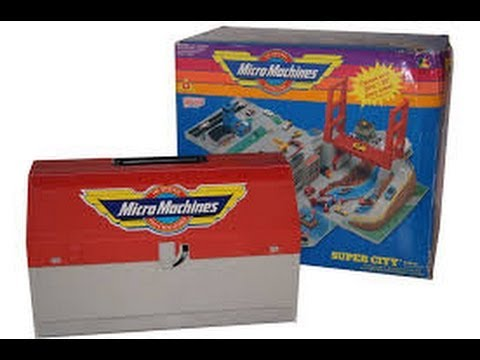 Micro machines toolbox city Swedish review