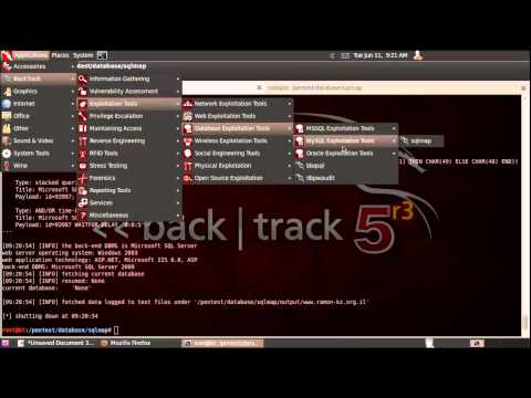 sqlmap simple mssql server