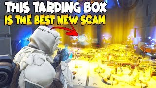 I Nearly Lost My Water Jacko in This Scam Box 😱 (Scammer Gets Scammed) Fortnite Save The World