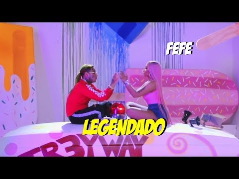"6ix9ine, Nicki Minaj, Murda Beatz - ""FEFE"" (Legendado/lyrics) PTBR/ENG"