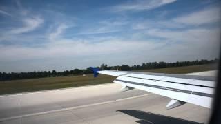 Lustige Ansage der Crew nach einer harten Landung in München