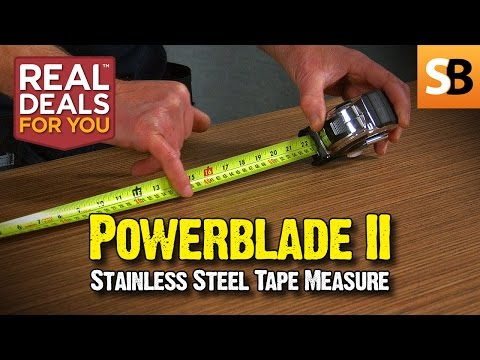 Komelon Powerblade II 8m/26ft Tape Measure