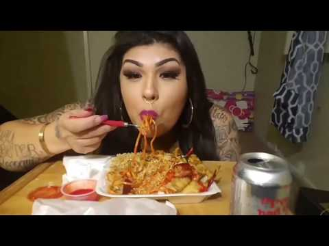 Mexican Chinese food?/MUKbang