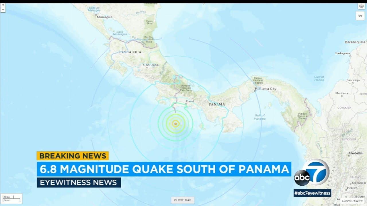 6.8 magnitude earthquake shakes the coast of Panama | ABC7 - ABC7