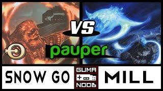 Pauper - SNOW GO vs MONO BLUE MILL