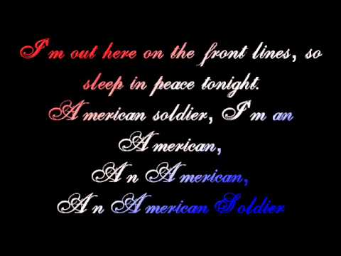 Toby Keith - American Soldier lyrics
