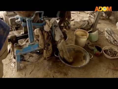 Small Scale Mining - Pampaso on Adom TV (16-5-17)