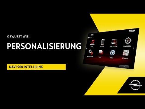 Navi 900 IntelliLink | Personalisierung | Gewusst wie!