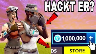 RECON EXPERT has 10'000'000 V-BUCKS in Fortnite Battle Royale, but then that happened..! (Fortnite)