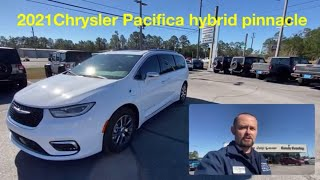 2021 Chrysler Pacifica Hybrid Pinnacle Review Features for sale Pensacola / Milton #carguyjake