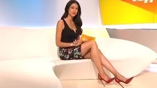 Rebecca mir tv presenter from germany -
