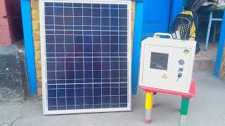 Портативная переносная солнечная электростанция(Если вас заинтересовала данная установка и вы хотели бы её приобрести - это можно сделать по следующей ссыл..., 2015-03-26T17:49:49.000Z)
