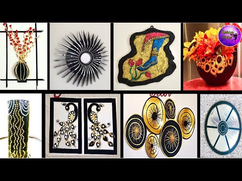 8 Amazing room decor ideas | craft ideas | waste material craft | Fashion pixies